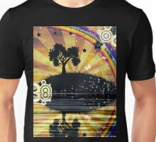 Lonely Tree at Sunset Unisex T-Shirt