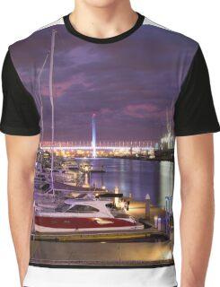 Melbourne Docklands Graphic T-Shirt