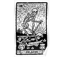 Tarot card - the death Poster