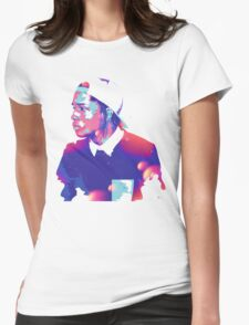A$AP ROCKY | 2106 | DESIGN  Womens Fitted T-Shirt