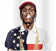 A$AP ROCKY   2016   USA Poster