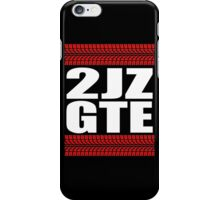 2JZ GTE tread iPhone Case/Skin