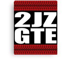 2JZ GTE tread Canvas Print