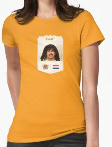 Gullit - holland soccer player Womens Fitted T-Shirt
