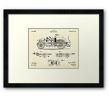Automobile Fire Apparatus-1916 Framed Print