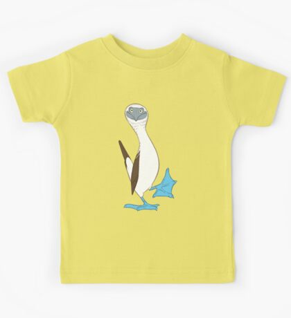 Blue-footed booby Kids Tee