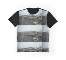 Graffiti Shirt / PheverOne The Green Line Train Yard T-Shirt Graphic T-Shirt