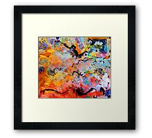 Pink Willow Framed Print