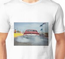 Valiant Charger Burnout Unisex T-Shirt