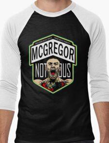 Conor Mcgregor, The Notorious Men's Baseball ¾ T-Shirt
