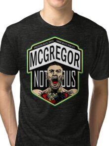 Conor Mcgregor, The Notorious Tri-blend T-Shirt