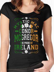 Conor Mcgregor, Mystic Mac Women's Fitted Scoop T-Shirt