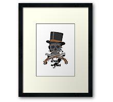 Death of the Poet Framed Print