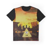 Bill Cipher Gravity Falls Weirdmageddon Graphic T-Shirt
