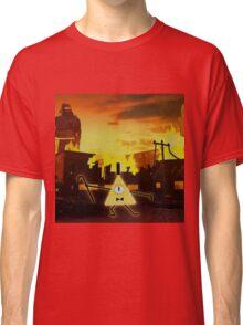 Bill Cipher Gravity Falls Weirdmageddon Classic T-Shirt