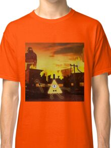 Bill Cipher Gravity Falls Weirdmageddon Classic T-Shirt
