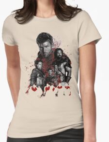 Spartacus and his rebel leaders Womens Fitted T-Shirt
