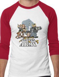 Simian Army! Men's Baseball ¾ T-Shirt