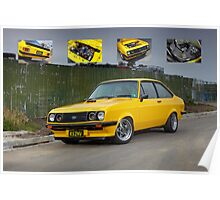 Ford Mk2 RS2000 Escort Poster