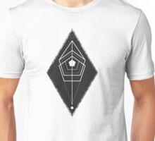 Rhombus texture geometry Unisex T-Shirt
