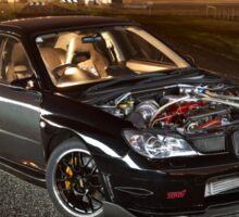 Black Subaru WRX Sticker