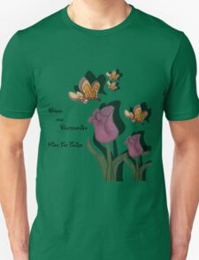 kiss the tulips Unisex T-Shirt