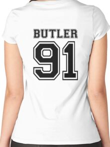 Butler Women's Fitted Scoop T-Shirt