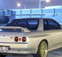 Silver Nissan R32 Skyline GTR #1 Sticker
