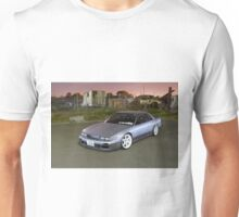 Silver Nissan S13 Silvia Unisex T-Shirt