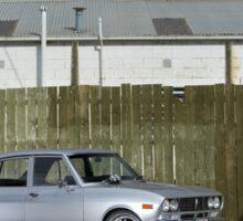 Silver Mazda RX2 Sticker