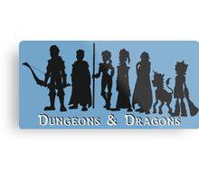 Dungeons & Dragons Metal Print