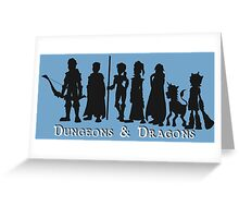 Dungeons & Dragons Greeting Card