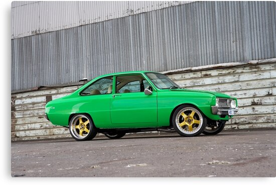 Green Mazda R100 by John Jovic