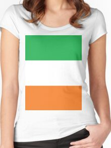 Irish Stripes Women's Fitted Scoop T-Shirt