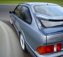 Ford Sierra RS Cosworth rig shot by John Jovic