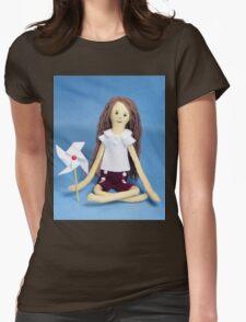 Celebrate Felt Doll Womens Fitted T-Shirt