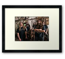 cannibal corpse tour dates Framed Print