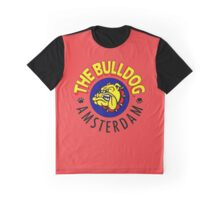 The Bulldog Coffeeshop in Amsterdam Graphic T-Shirt
