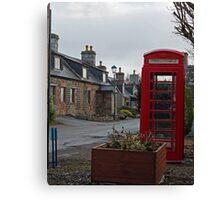 British Red Phone Box Canvas Print