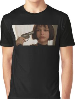 Mathilda the Professional Graphic T-Shirt