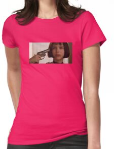 Mathilda the Professional Womens Fitted T-Shirt