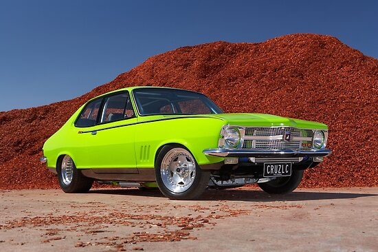 Green Holden LC Torana by John Jovic