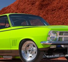 Green Holden LC Torana Sticker
