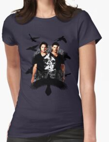 Supernatural 2  Womens Fitted T-Shirt
