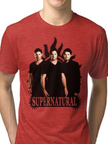 Supernatural 3 Tri-blend T-Shirt