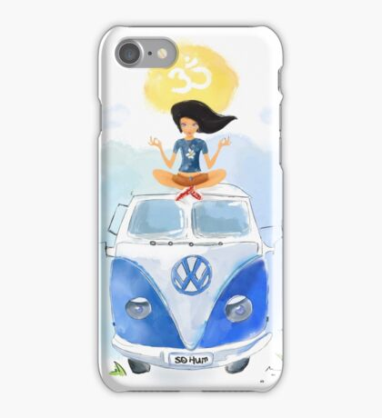 Yoga  Travel California iPhone Case/Skin