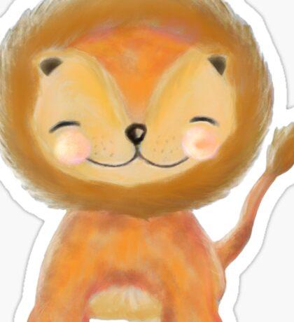 Wee Lion Sticker