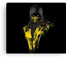 Mortal Fire Canvas Print