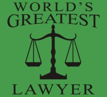World's Greatest Lawyer One Piece - Short Sleeve