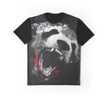 THE ANGRY SALJU PANDA Graphic T-Shirt